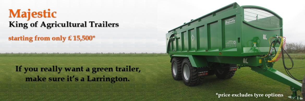 Larrington Majestic Tipping Trailer - Built to last !