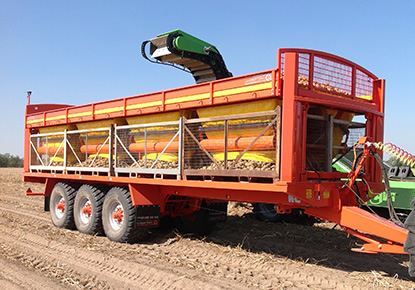 Larrington Guardian Potato / Onion Box Loader