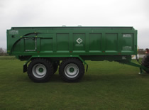 Larrington 8ft Wide Majestic Trailer